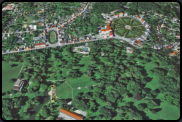 Putbus bei Google Earth